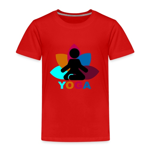 yoga - Kids' Premium T-Shirt