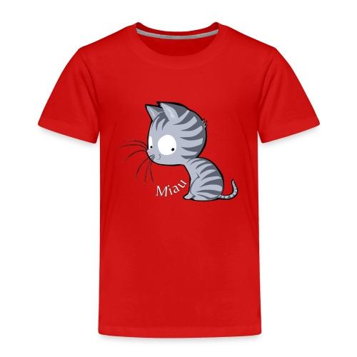 Tiger Katze Miau Shirt - Kinder Premium T-Shirt