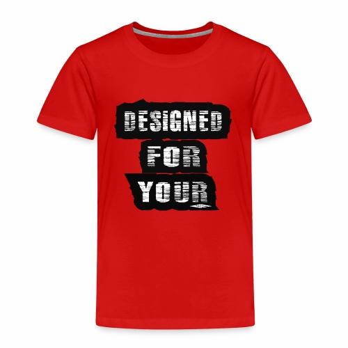 J&F Designed for your - Camiseta premium niño