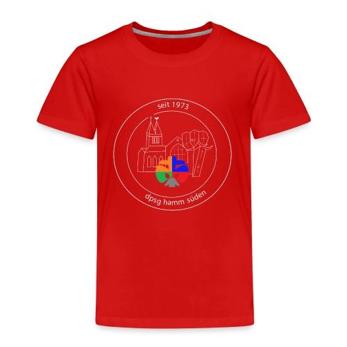 T Shirt Logo weiss trans ohne rand - Kinder Premium T-Shirt