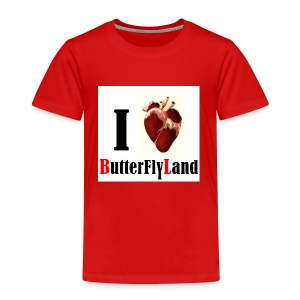 I love Butterflyland - T-shirt Premium Enfant