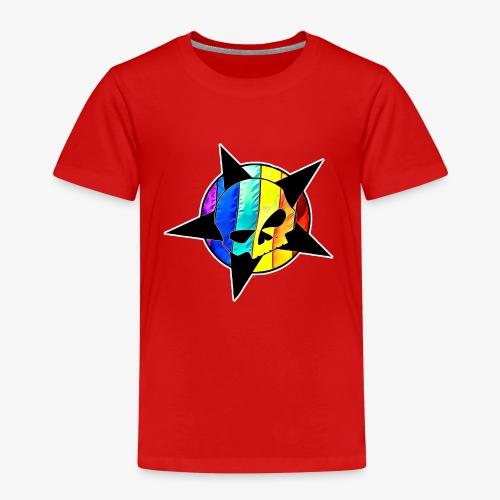 ranbow skull - Kids' Premium T-Shirt