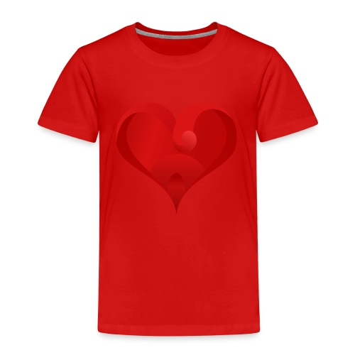 Herz Logo - Kinder Premium T-Shirt