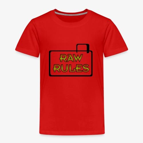 RAW Rules - Kids' Premium T-Shirt