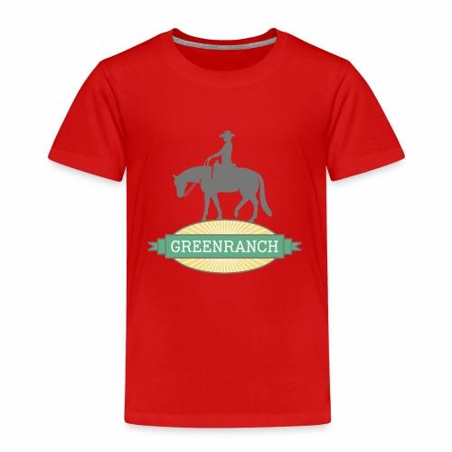 greenranch logo - Kinder Premium T-Shirt