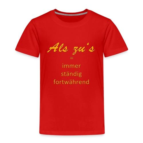 Als zu Kassel - Kinder Premium T-Shirt