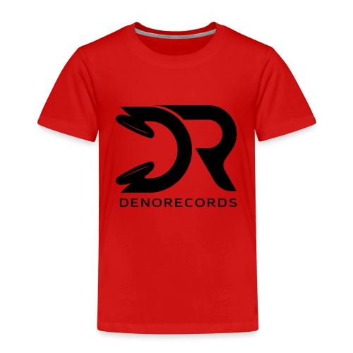 Denorecords Black Png - Kinder Premium T-Shirt