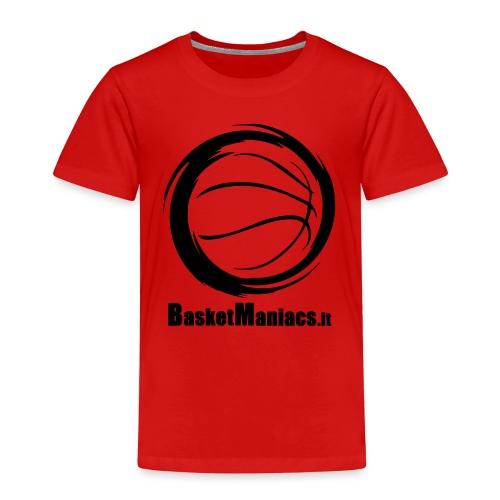 Basket Maniacs - Maglietta Premium per bambini
