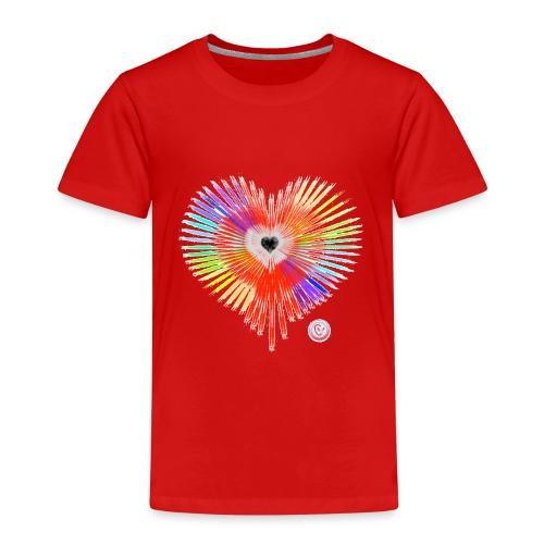 Regenbogen Herz - Kinder Premium T-Shirt