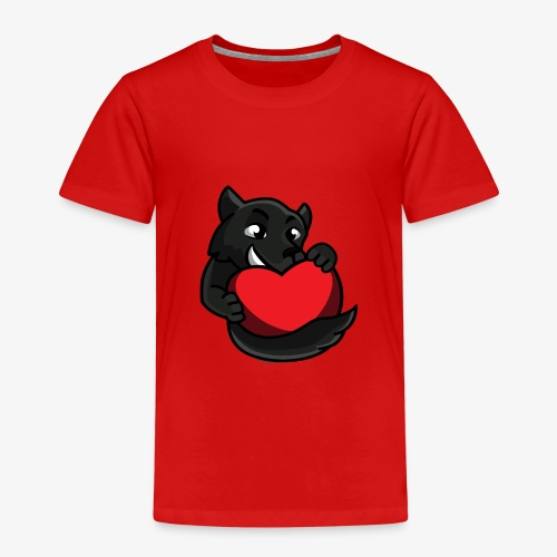HumanReactionTV Wolf Love - Kinder Premium T-Shirt
