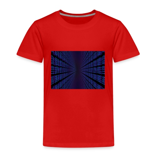 Techno Binary - Kinder Premium T-Shirt