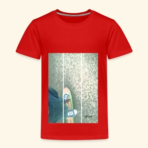 Lajfstajl, life on a skateboard - Premium-T-shirt barn
