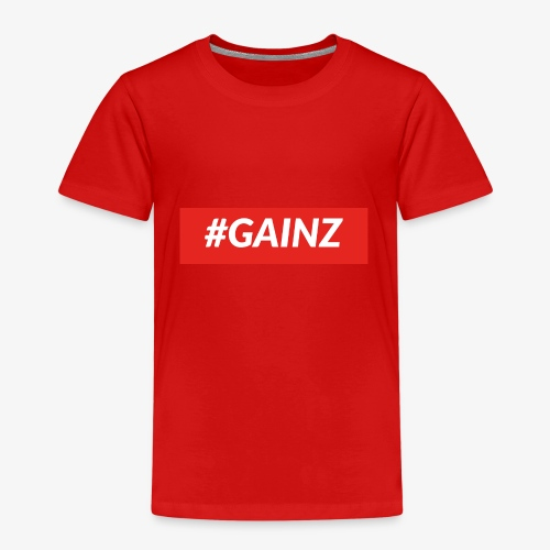 Gainz by Simon Mathis - Kinder Premium T-Shirt