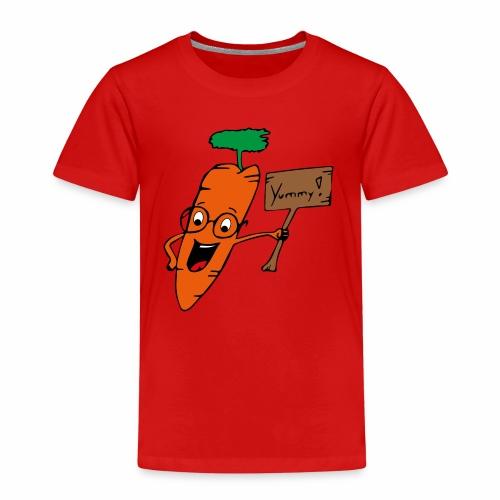 Kalle die Karotte - Kinder Premium T-Shirt