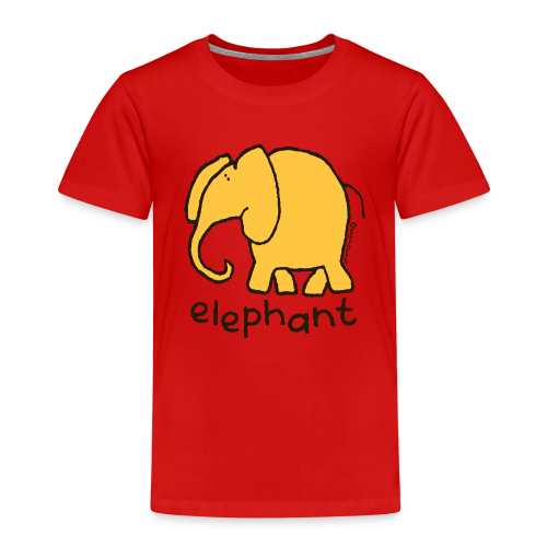 'elephant' - Bang on the door - Kids' Premium T-Shirt