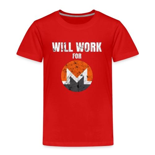 XMR T-Shirt - Kinder Premium T-Shirt