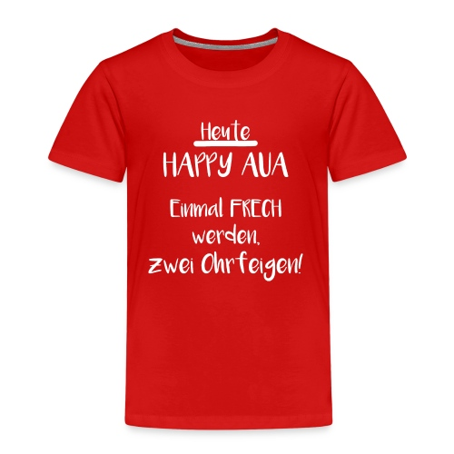 Happy Aua - Kinder Premium T-Shirt
