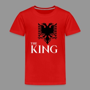The king of albania kosovo albanisch t-shirt - Kinder Premium T-Shirt