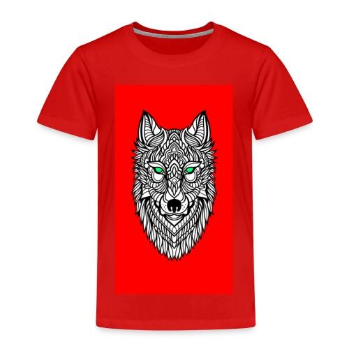 wolf2 - Kinder Premium T-Shirt