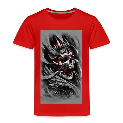 Skull of the King - Kinder Premium T-Shirt