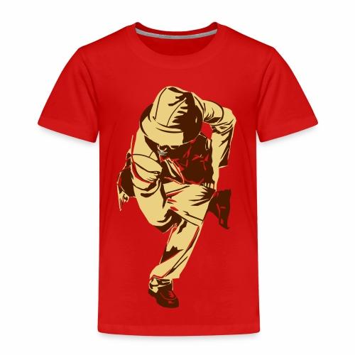 Tänzer Aufdruck - Kinder Premium T-Shirt