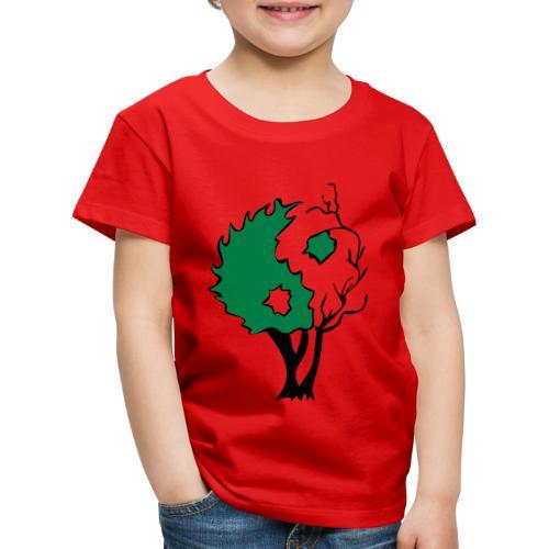 Yin Yang Arbre - T-shirt Premium Enfant