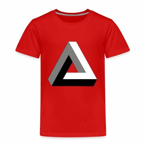Das trendige Dreieck - Kinder Premium T-Shirt