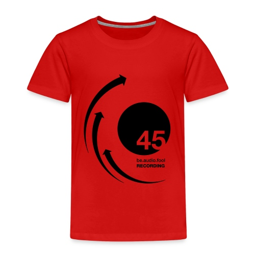 45 be.audio.fool Recording - Kinder Premium T-Shirt