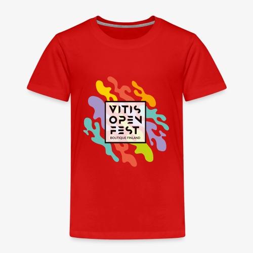 VitisOpenFest design - Lasten premium t-paita