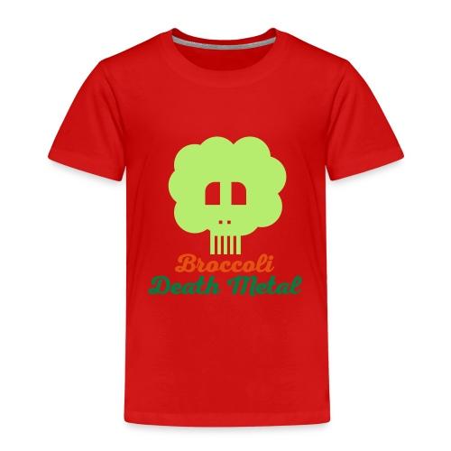 broccoli death metal 10 - Kinder Premium T-Shirt