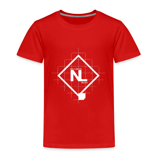 No Limits Logo Weiß - Kinder Premium T-Shirt