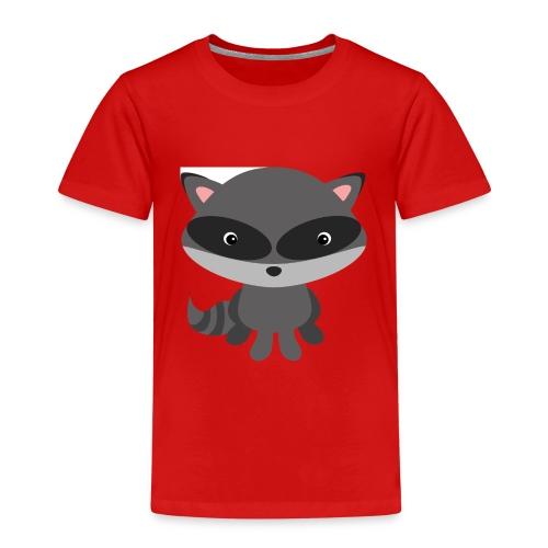 Cooler Waschbär für verspielte Kinder - Kinder Premium T-Shirt