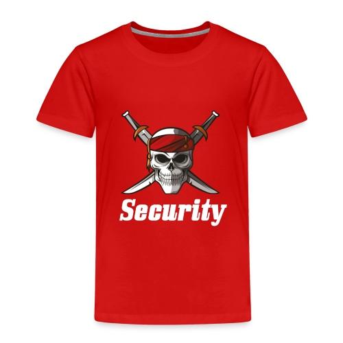 Security - Camiseta premium niño