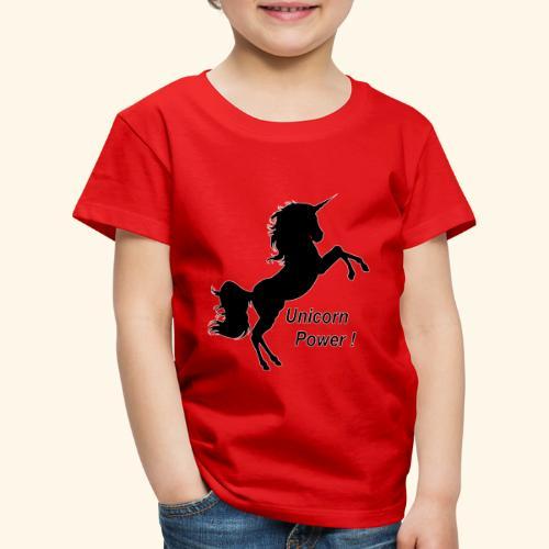 Unicorn Power - T-shirt Premium Enfant