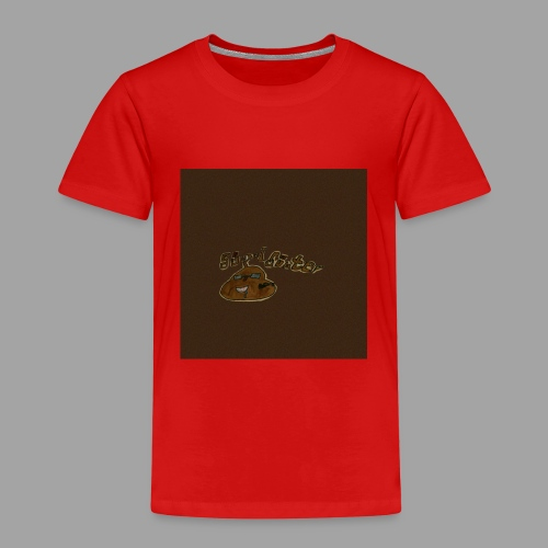 Günni Günter Desing Brown Background- - Kinder Premium T-Shirt