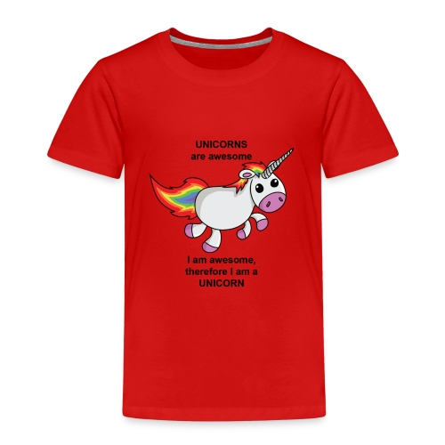 Unicorns are awesome - Kids' Premium T-Shirt