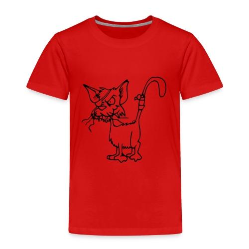 Piraten Katze - Kinder Premium T-Shirt