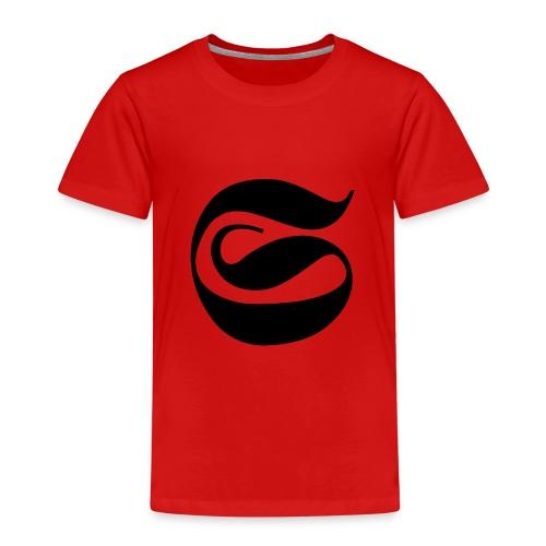LOGO NEGRO STAINED - Camiseta premium niño