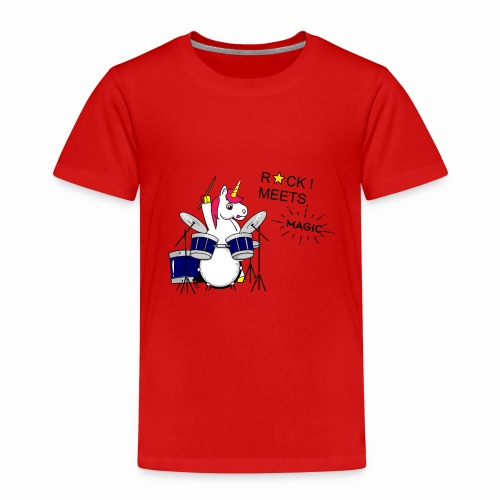 Einhorn Design - Kinder Premium T-Shirt