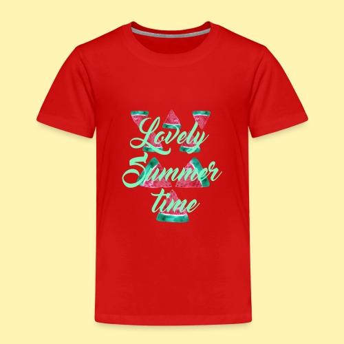 Wassermelonen Lovely Summertime - Kinder Premium T-Shirt