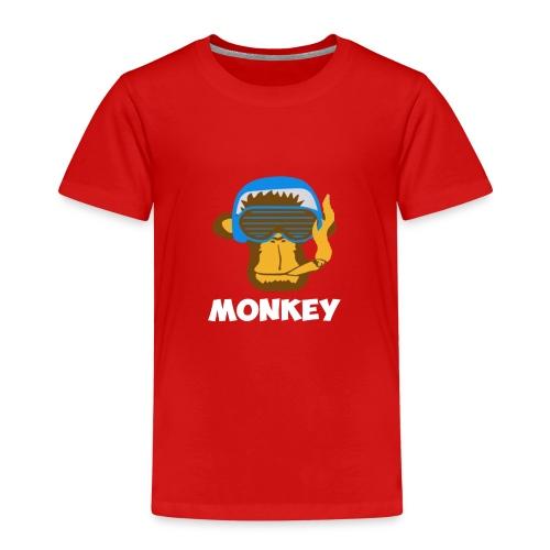 Affen - Monkey - Kinder Premium T-Shirt