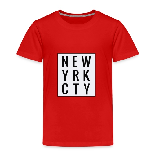 New York City Typo - Kinder Premium T-Shirt