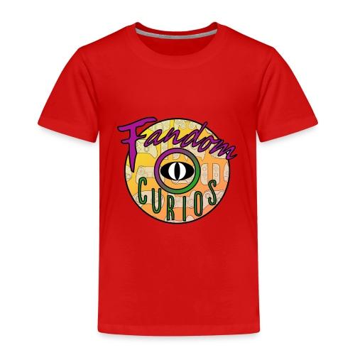 Fandom Curios LOGO - Kids' Premium T-Shirt