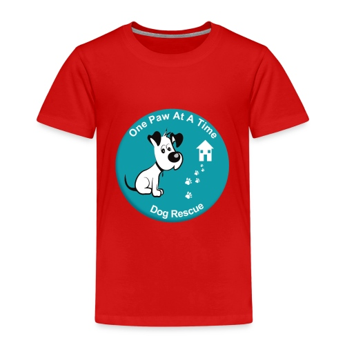 One Paw at a Time Logo - Kids' Premium T-Shirt