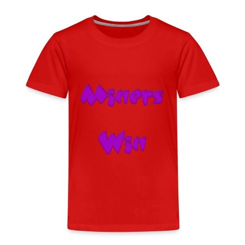 MinersWin Pink - Kinder Premium T-Shirt