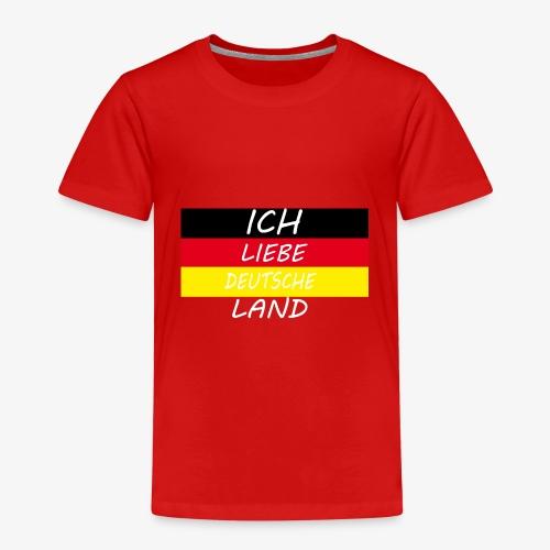 Ich Liebe Deutsche land - Kinder Premium T-Shirt