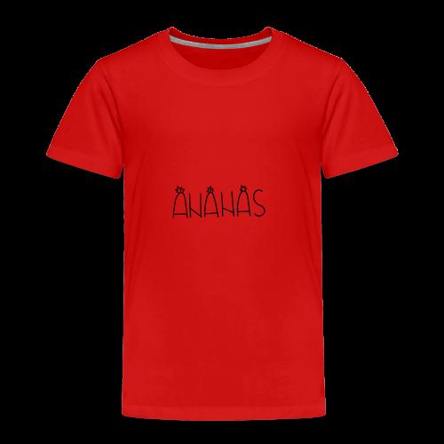 Ananas - Kinder Premium T-Shirt
