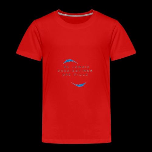 Ne jamais sous estimer une fille - T-shirt Premium Enfant