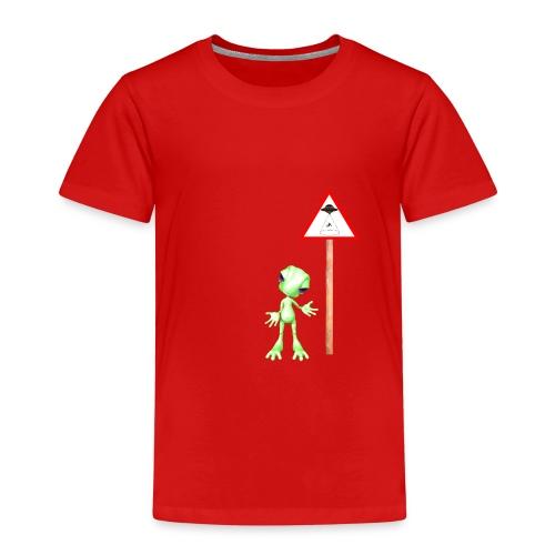 Achtung Alien Entführung - Kinder Premium T-Shirt