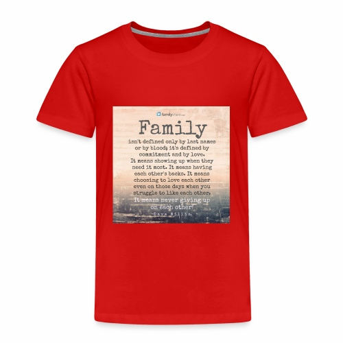 Family - Kids' Premium T-Shirt